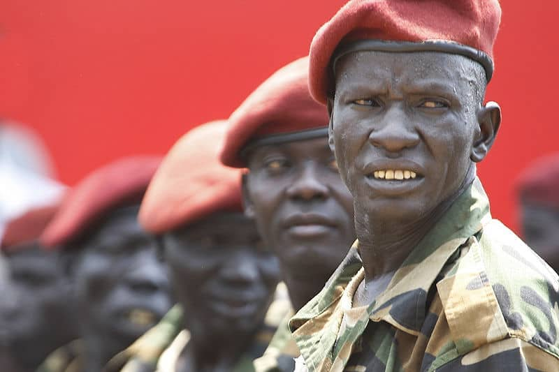 Trouble stirs in South Sudan