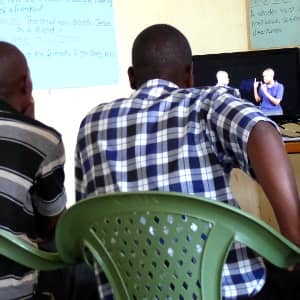 Sign language Scripture leads to reconciliation